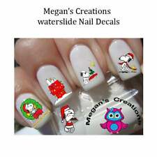 Christmas Snoopy Nail Art Decals