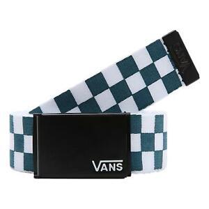 Vans Deppster II Web Belt - Blue Coral / Checkerboard NEW