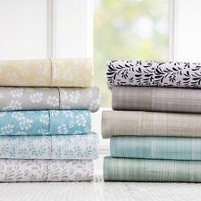 Linen Market Hypoallergenic Ultra Soft Premium 4 Piece Printed Bed Sheet Set