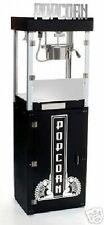 NEW METROPOLITAN BLACK 6 OZ. POPCORN POPPER & PEDESTAL BASE by BENCHMARK USA