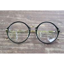 1920s Vintage eyeglasses oliver retro round frames 17R33 Black kpop peoples find
