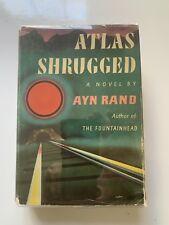 Atlas Shrugged, by Ayn Rand, HC/DJ 17th Printing