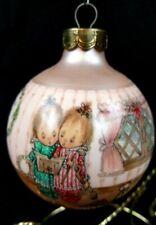 Hallmark 1990 Betsey Clark - Home For Christmas #5 Glass Ornament Qx203-3 Nos