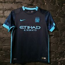 Ihenacho Manchester City Away football shirt 2015-2016 Nike Trikot Size Young L