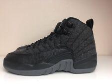 size 40 27e5d 84579 Nike Air Jordan 12 Retro Lana BG GS SCARPE NERO UK 3.5 EUR 36 852626 003