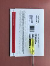 Microsoft Windows 7 Pro Professional SP1 64 Bit -DVD & Product key - FQC-08289