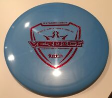 New Dynamic Discs Fuzion Verdict 173 grams