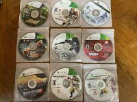 Microsoft Xbox 360 DISC ONLY Games Lot-5 Fast Shipping