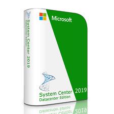 Microsoft System Center 2019 v1902 Datacenter with full, Retail 32 User License