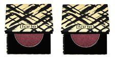 2 x Tarte Metallic Eye Shadow - Scarlet (metallic warm plum) New in Box Lot