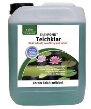 (5€/l)  EASYPOND Teichklar Teichklärer gegen grünes und trübes Wasser Koi