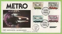 G.B. 1982 British Motor Cars official Havering First Day Cover World Trade Centr