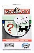 Monopoly Board Game Games to Go Travel Edition Complete Parker 2005