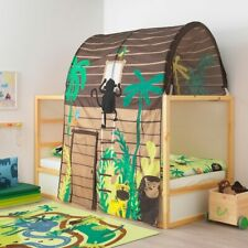 IKEA KURA Bed Tent Jungle Tree House Theme Sleeping Canopy Kid Privacy Cottage