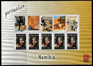 Ludwig van Beethoven - 250 Birthday. -Namibia Souvenir Sheet