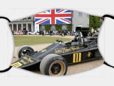 Face Mask, TRIPLE LAYER, FILTER, Goodwood Festival of Speed, Lotus F1, FREE POST