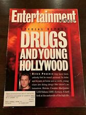 ENTERTAINMENT WEEKLY - RIVER PHOENIX Death - November 26, 1993