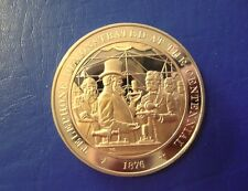 1876 Telephone/Bell - Franklin Mint Solid Bronze Commemorative Medal