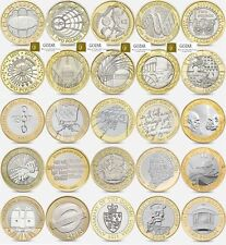 Rare £2 two pound coins commemorative different designs Darwin 1807