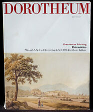 Catalogue Dorotheum, 1 & 2 april 2015 Osterauktion EX