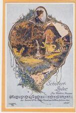 Music Postcard - Franz Schubert Lieder Des Mullers Blumen by O Elsner #4