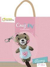 Bastelset Schlüsselanhänger Mini Couz`in Romy Keyring selbst nähen kleiner Bär
