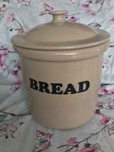 Pearson's Of Chesterfield Large Ceramic Bread Bin/crock/Pot