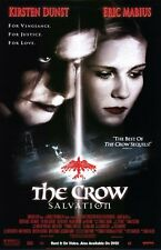 Crow Salvation Video Single Sided Orig Movie Poster