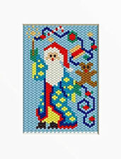 Santa Magic Beaded Banner Pattern