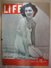 LIFE MAGAZINE JULY 31, 1939 DIANA BARRYMORE