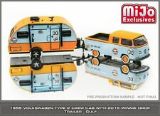 PRE ORDER ITEM.Greenlight mijo exclusive club v dub hitch and tow set of 4