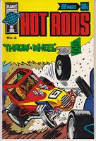 Australian Comic: Hot Rods #3 Planet Comics 1976