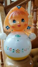 VINTAGE EARLY USSR RUSSIA CELLULOID ROLY-POLY DING DOLL NEVALYASHKA