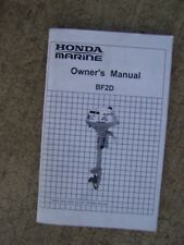 2004 Honda Marine BF2D Outboard Owner Manual MORE BOAT ITEMS IN OUR STORE  S