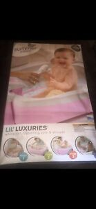 Summer Infant Lil Luxuries Whirlpool Bubbling Spa & Shower Pink Bath Tub (Used)