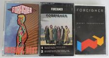 LOT OF 3 VINTAGE FOREIGNER CASSETTE TAPES ~ PRE-OWNED