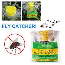 Outdoor Non Toxic Portable Hang Fly Trap Insect Killer Pest Control Catcher Bag
