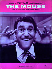 SOUPY SALES - DO THE MOUSE  - SHEET MUSIC - COPYRIGHT 1965