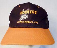 Ball Cap - Hooters Cincinnati Ohio Snapback Black & Orange Baseball Hat