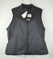 Nike Women's Size XXL Black Reversible Insulated Sherpa Fleece Golf Vest NWT