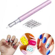 1Pcs Painting Drawing Gel Pen Brush Design Nail Art Tool For Salon Manicure DIY