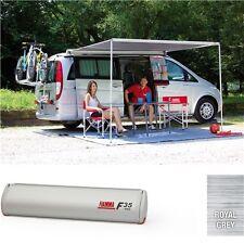 Fiamma F35 Pro 250cm Caravan & Camper Van Awning Deluxe Grey/titanium 06762B01T