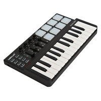 Worlde Panda mini Portable 25-Key USB Keyboard and Drum Pad MIDI Controller