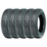 165SR15 Michelin XZX set of five (5) VW Beetle Classic tyres