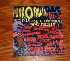 Punk O Rama Vol-2 Sticker Decal Rectangle Promo 5.5x6