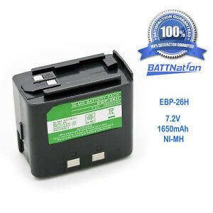 1650mAh EBP-20N EBP-24N EBP-26N Battery for ALINCO  DJ-280 DJ-480T DJ-580 DJ-180