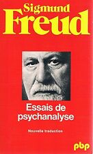FREUD ESSAIS DE PSYCHANALYSE + PARIS POSTER GUIDE