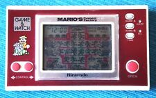 MARIO´S CEMENT FACTORY Game & Watch (NINTENDO). Good Condition