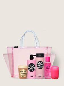 6 PC Victoria's Secret PINK BODY CARE BACK TO BEAUTY BUNDLE Set 2021 NWT