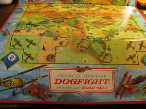1963 American Heritage Dogfight Game Replacement Game Board   #UP CO